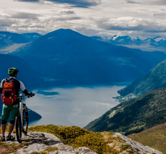 Biken in Norwegen